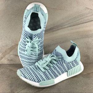 Adidas NMD R1 Primeknit Running Shoes Size 8 NWOB